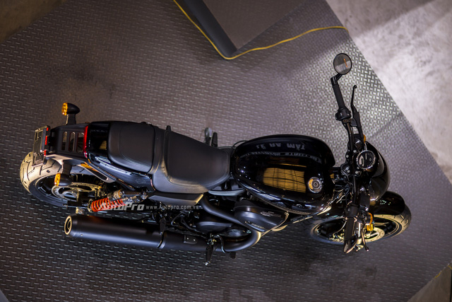 Cận cảnh Harley-Davidson Street Rod 2017 giá 415 triệu - Ảnh 12.