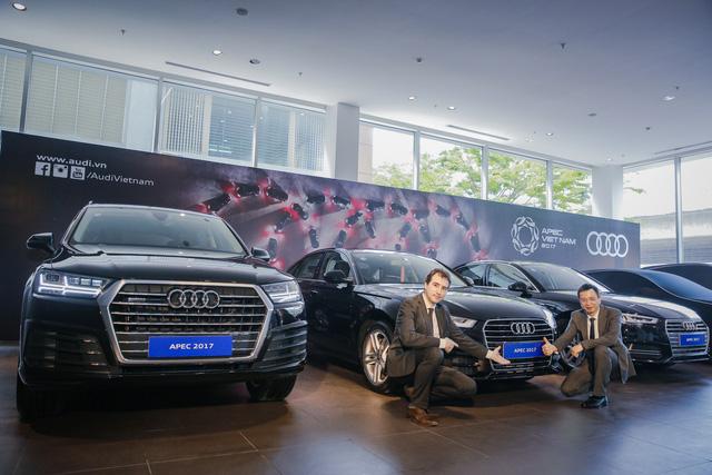 Khám phá dàn xe Audi sản xuất riêng cho APEC 2017 tại Việt Nam - Ảnh 2.