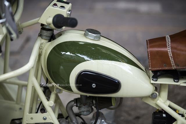 Bắt gặp đồ cổ xích lô máy Peugeot trên đường phố Hà Nội - Ảnh 6.