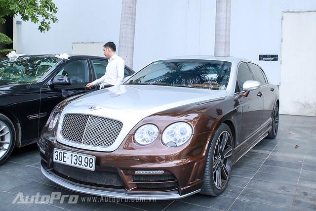 Hàng độc Rolls-Royce Phantom Lửa Thiêng tái xuất tại lễ ăn hỏi Hoa hậu Thu Ngân - Ảnh 5.