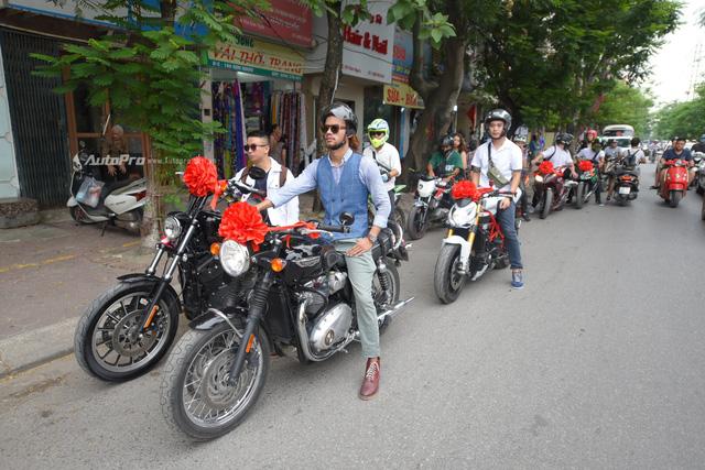 Chất chơi với đám rước dâu của stunter Việt được hộ tống bằng xe ATV và phân khối lớn - Ảnh 2.