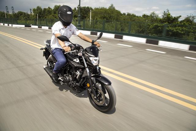 Yamaha MT-03 - Naked bike dành cho các bạn trẻ nhập môn phân khối lớn - Ảnh 6.