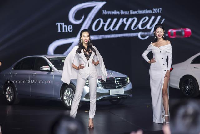 Dàn chân dài miên man tại Mercedes-Benz Fascination 2017 - Ảnh 3.