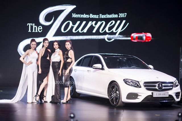 Dàn chân dài miên man tại Mercedes-Benz Fascination 2017 - Ảnh 9.