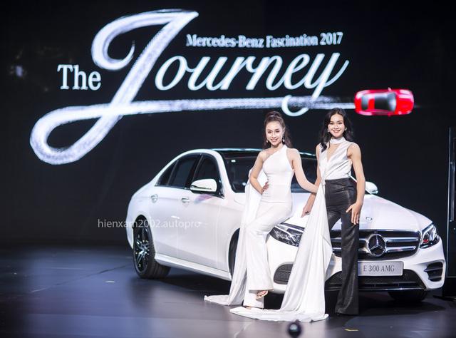 Dàn chân dài miên man tại Mercedes-Benz Fascination 2017 - Ảnh 16.