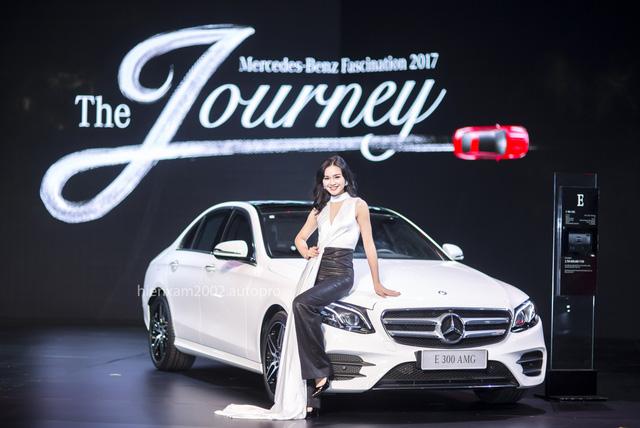Dàn chân dài miên man tại Mercedes-Benz Fascination 2017 - Ảnh 18.