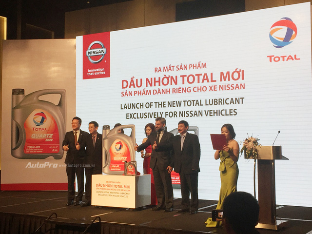 Nissan có dầu động cơ được Total nghiên cứu riêng - Ảnh 2.
