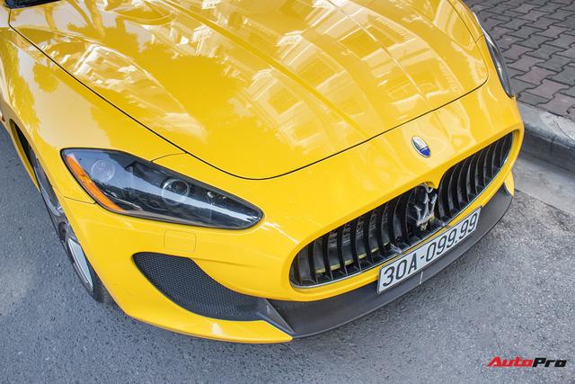 Maserati Granturismo MC SportLine biển tứ quý 9 khoe dáng trên phố Hà Nội - Ảnh 8.