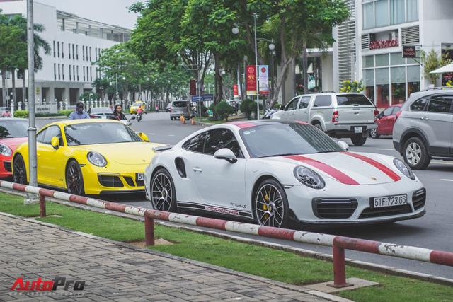 Cường Đô la cùng dàn Porsche sắc màu tụ tập tại Sài Gòn - Ảnh 7.