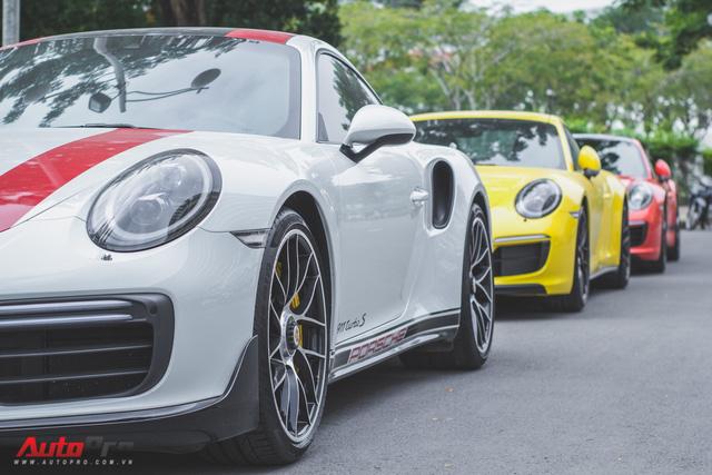 Cường Đô la cùng dàn Porsche sắc màu tụ tập tại Sài Gòn - Ảnh 8.