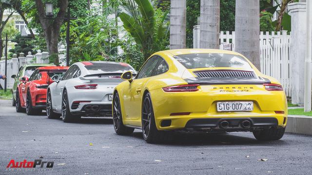 Cường Đô la cùng dàn Porsche sắc màu tụ tập tại Sài Gòn - Ảnh 10.