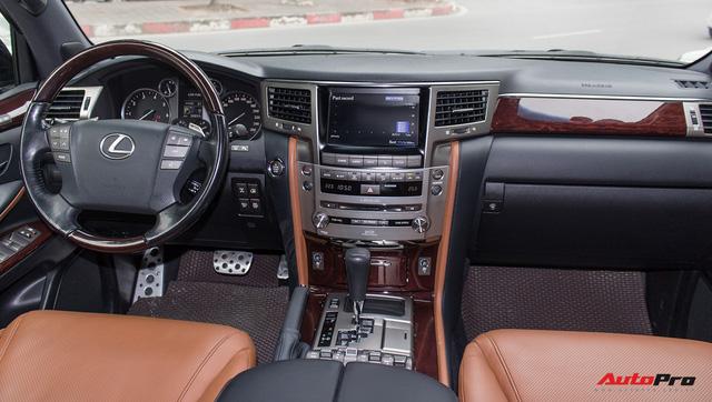 SUV hạng sang Lexus LX570 đi 2 năm bán lại giá 5,3 tỷ đồng tại Hà Nội - Ảnh 10.