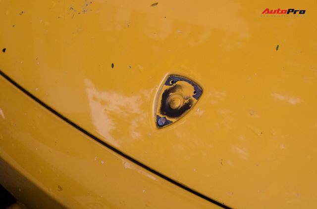"""""""Bò già"""" Lamborghini Gallardo 13 năm tuổi mất sạch logo xuất hiện tại Hà Nội - Ảnh 11."""