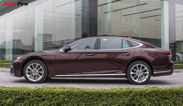 Cạnh tranh Mercedes-Maybach, Lexus LS500h 2018 chốt giá 7,6 tỷ đồng tại Việt Nam - Ảnh 3.