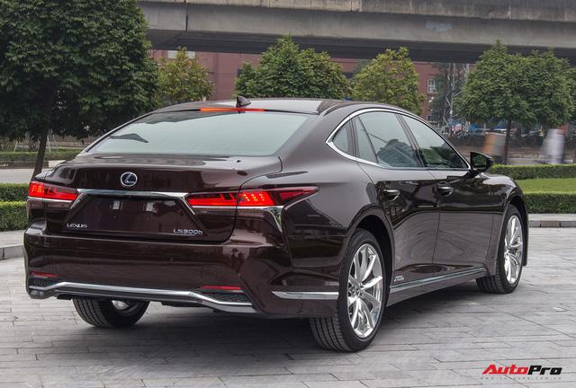 Cạnh tranh Mercedes-Maybach, Lexus LS500h 2018 chốt giá 7,6 tỷ đồng tại Việt Nam - Ảnh 5.