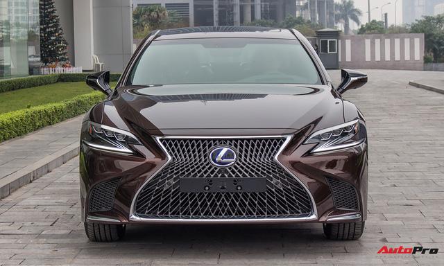 Cạnh tranh Mercedes-Maybach, Lexus LS500h 2018 chốt giá 7,6 tỷ đồng tại Việt Nam - Ảnh 4.