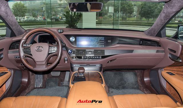 Cạnh tranh Mercedes-Maybach, Lexus LS500h 2018 chốt giá 7,6 tỷ đồng tại Việt Nam - Ảnh 6.