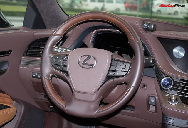 Cạnh tranh Mercedes-Maybach, Lexus LS500h 2018 chốt giá 7,6 tỷ đồng tại Việt Nam - Ảnh 18.