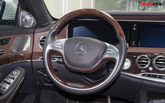 Mercedes-Maybach S400 4Matic đầu tiên tại Việt Nam bị rao bán giá hơn 6 tỷ đồng - Ảnh 11.
