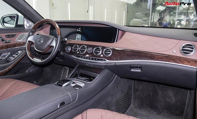 Mercedes-Maybach S400 4Matic đầu tiên tại Việt Nam bị rao bán giá hơn 6 tỷ đồng - Ảnh 15.