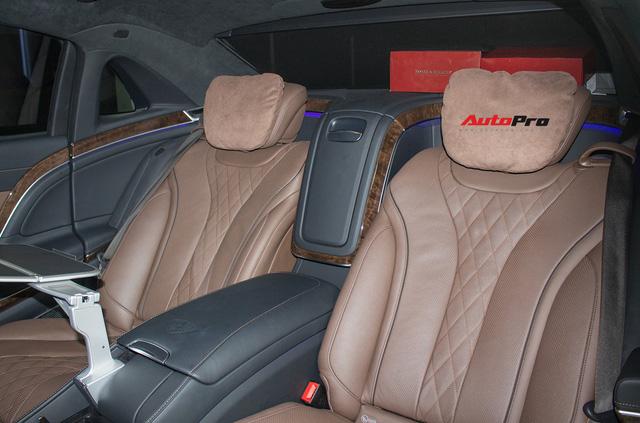 Mercedes-Maybach S400 4Matic đầu tiên tại Việt Nam bị rao bán giá hơn 6 tỷ đồng - Ảnh 17.