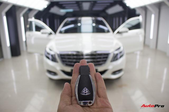 Mercedes-Maybach S400 4Matic đầu tiên tại Việt Nam bị rao bán giá hơn 6 tỷ đồng - Ảnh 29.