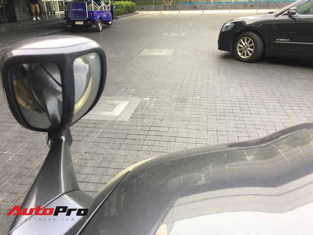 Lắp thêm gương phụ trước đầu xe cũ - mẹo thay camera trước giá rẻ - Ảnh 1.