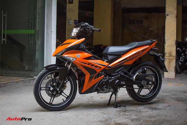 Cận cảnh Yamaha Exciter 150 màu mới tại Việt Nam - Ảnh 1.