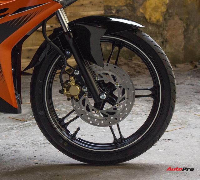 Cận cảnh Yamaha Exciter 150 màu mới tại Việt Nam - Ảnh 12.