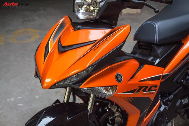 Cận cảnh Yamaha Exciter 150 màu mới tại Việt Nam - Ảnh 3.