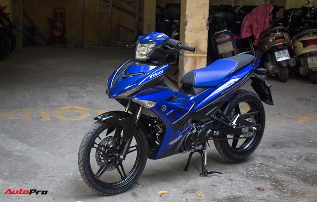 Cận cảnh Yamaha Exciter 150 màu mới tại Việt Nam - Ảnh 8.