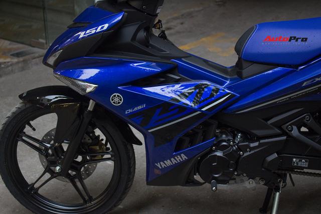 Cận cảnh Yamaha Exciter 150 màu mới tại Việt Nam - Ảnh 9.