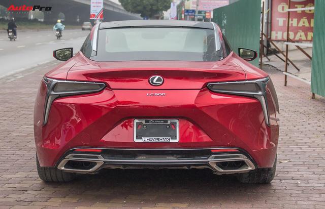 Diện kiến Lexus LC500 2018 đầu tiên tại Việt Nam - Ảnh 12.