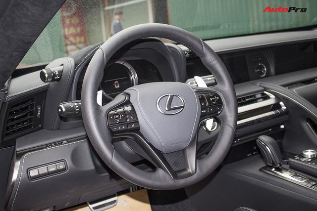 Lexus LC500 màu đỏ độc nhất Việt Nam tái xuất tại Hà Nội - Ảnh 10.