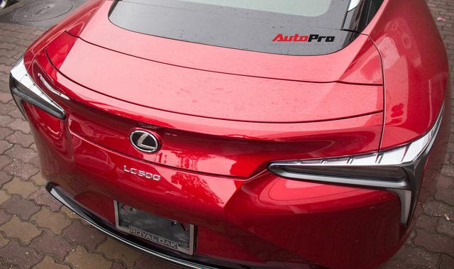 Diện kiến Lexus LC500 2018 đầu tiên tại Việt Nam - Ảnh 16.