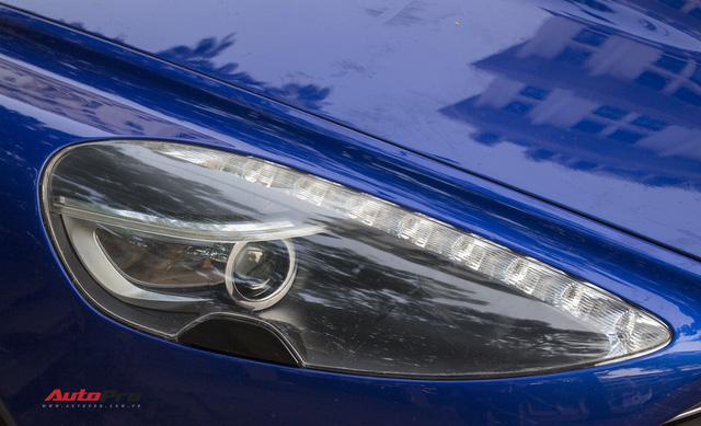 Hàng hiếm Aston Martin Rapide đổi màu tại Hà Nội - Ảnh 7.