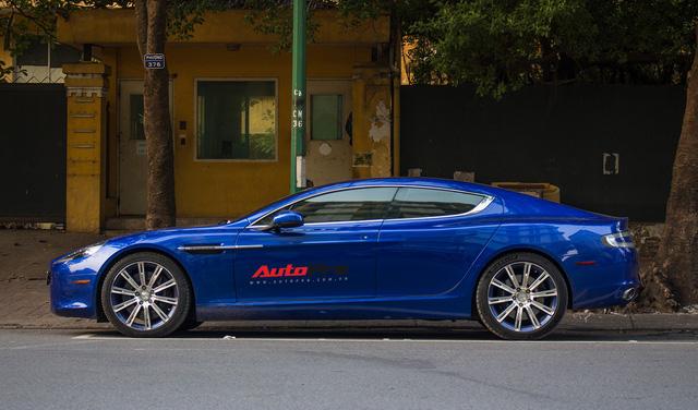 Hàng hiếm Aston Martin Rapide đổi màu tại Hà Nội - Ảnh 3.