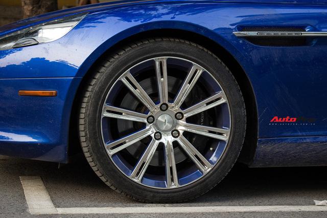 Hàng hiếm Aston Martin Rapide đổi màu tại Hà Nội - Ảnh 13.