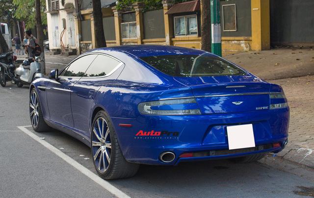 Hàng hiếm Aston Martin Rapide đổi màu tại Hà Nội - Ảnh 4.
