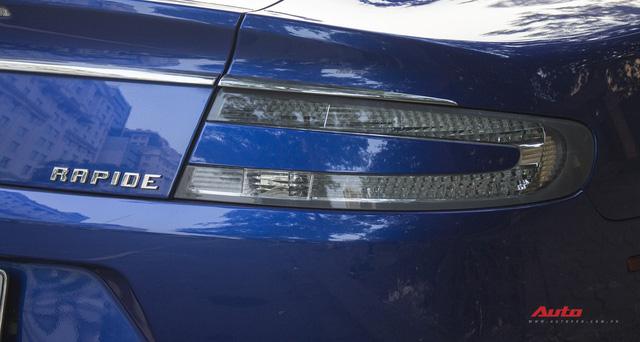 Hàng hiếm Aston Martin Rapide đổi màu tại Hà Nội - Ảnh 6.