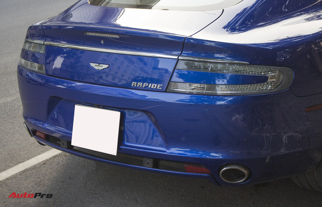 Hàng hiếm Aston Martin Rapide đổi màu tại Hà Nội - Ảnh 12.