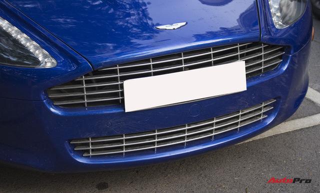 Hàng hiếm Aston Martin Rapide đổi màu tại Hà Nội - Ảnh 8.