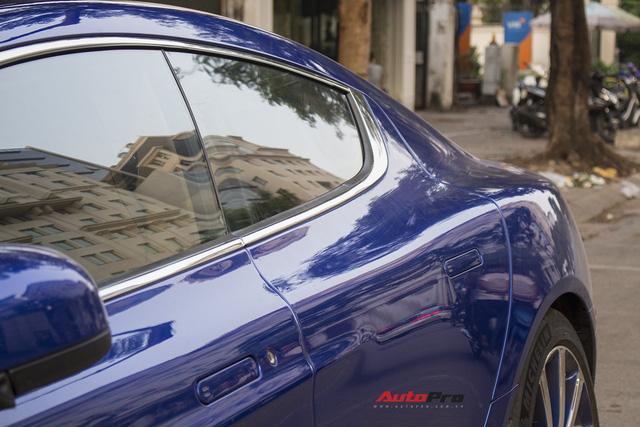Hàng hiếm Aston Martin Rapide đổi màu tại Hà Nội - Ảnh 5.