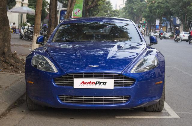 Hàng hiếm Aston Martin Rapide đổi màu tại Hà Nội - Ảnh 14.