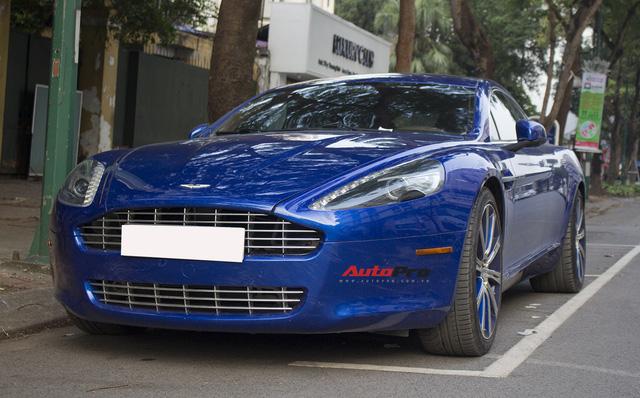 Hàng hiếm Aston Martin Rapide đổi màu tại Hà Nội - Ảnh 15.