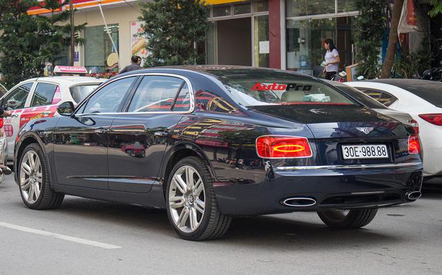 Sedan siêu sang Bentley Flying Spur W12 mang biển tứ quý 8 tại Hà Nội - Ảnh 7.