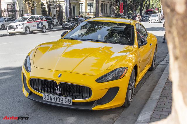 Maserati Granturismo MC SportLine biển tứ quý 9 khoe dáng trên phố Hà Nội - Ảnh 1.