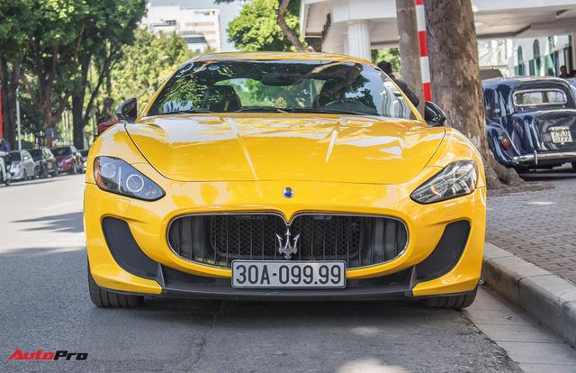 Maserati Granturismo MC SportLine biển tứ quý 9 khoe dáng trên phố Hà Nội - Ảnh 3.