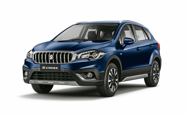 Crossover giá bèo và tiết kiệm nhiên liệu Suzuki S-Cross 2017 được vén màn - Ảnh 8.