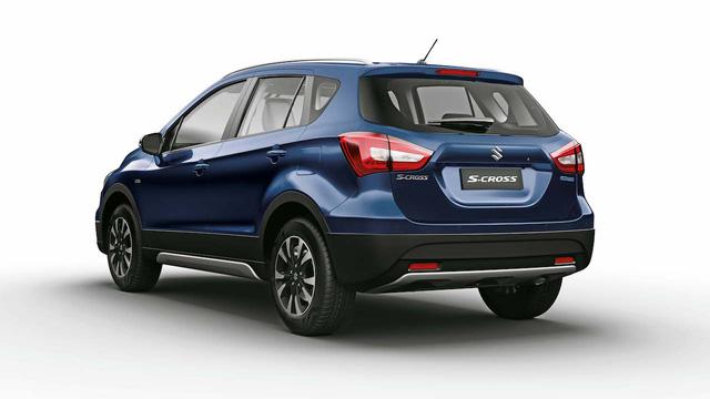 Crossover giá bèo và tiết kiệm nhiên liệu Suzuki S-Cross 2017 được vén màn - Ảnh 7.